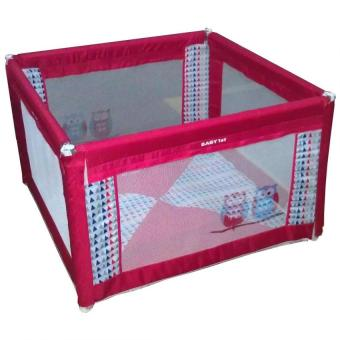 Baby 1st Square Foldable Playpen P-521D RED B Price Philippines