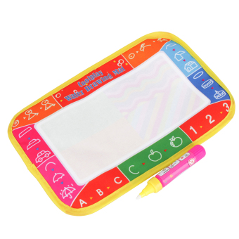 Harga 16.5×25cm Mini Baby Drawing Writing Board Mat Magic Doodle