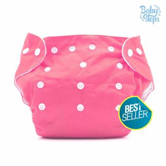 BABY STEPS Cloth Baby Diapers (Pink) Price Philippines