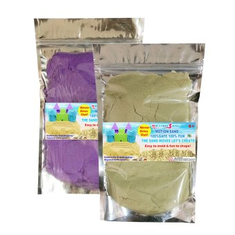 Harga Motion Sand Natural and Purple Color Sand