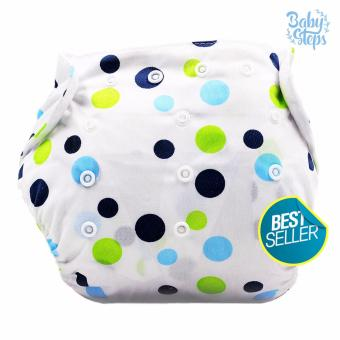 BABY STEPS Polka Blues Baby Diapers Price Philippines