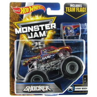 Harga Hot Wheels 1:64 Monster Jam - Shocker