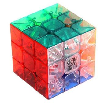 3x3x3 YJ Yulong Transparent Color Stickerless Cube puzzle Moyu - intl Price Philippines