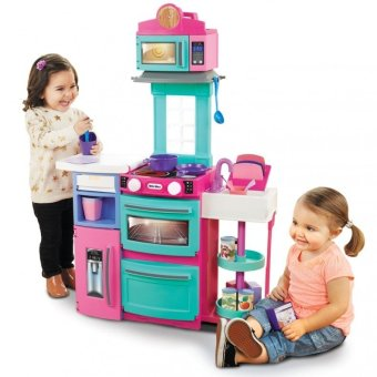 Harga Little Tikes Cook N Store Kitchen (Pink)