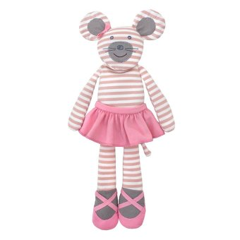 Organic Farm Buddies Ballerina Mouse Plush Pink Price Philippines