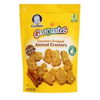 Harga Gerber Graduates Animal Crackers Cinnamon Graham