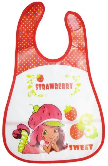 Baby Kids Towel Waterproof Lunch Bibs (Strawberry) Price Philippines
