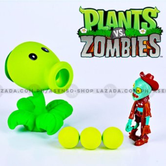 Plants versus Zombies (PvZ) Reloadable Functional Peashooter Action Figure Price Philippines