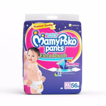 MamyPoko Extra Absorb XXL Size Diapers 56 Price Philippines