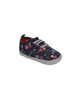 Enfant Baby Girl Shoes(Floral Blue) Price Philippines