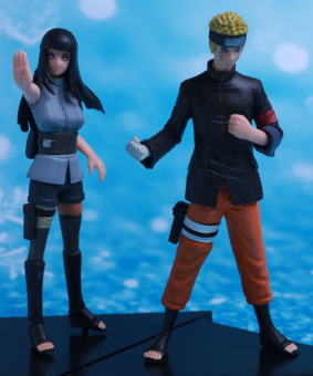 Harga 2pcs Naruto Hyuga Hinata Together Action Figure Marry Wedding Gifts Collection Art Works Best Gifts