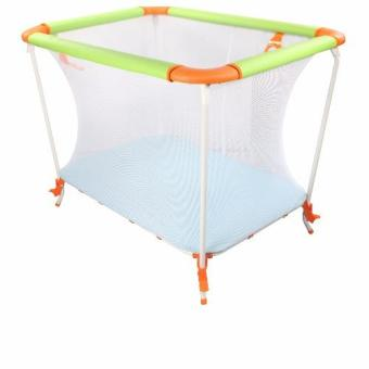 Harga Baby Crib Space Saver (Green/Orange)