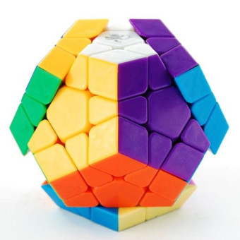 Megaminx I Stickerless Speed Cube Puzzle 12-axis 3-rank Dodecahedron without Ridges Dayan Price Philippines