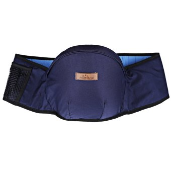 Breathable Babies Waist Stool Anti-skidding (DEEP BLUE) - Intl Price Philippines