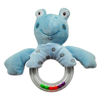 Enfant Baby Soft Rattle Toy (Blue Frog) Price Philippines