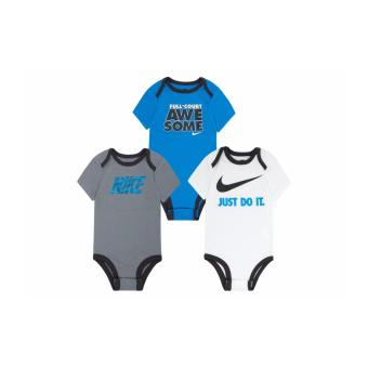 Harga Nike 3-Pack Bodysuits - Full-Court Awesome (9-12 Months)