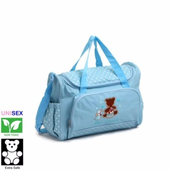 Cutie Beautiful Mornings Diaper Bag (Blue) Price Philippines