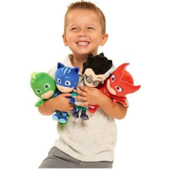 4Pcs/Set 20Cm Plush Pj Cartoon Mask Hero Cat Boy &Amp; Gekko &Amp;Owlette Movie Figure Toys - intl Price Philippines