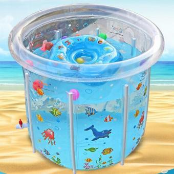 Leyi Children's baby thickening insulating gas holder swimming pool - intl Price Philippines