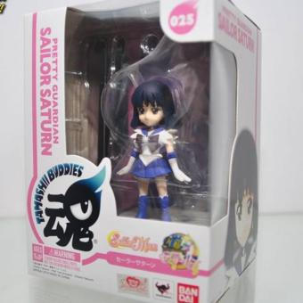 Harga Bandai-4549660079156 Sailor Moon Sailor Saturn Tamashi Buddies Figure ORIGINAL*