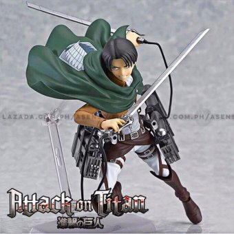 Attack on Titan (Shingeki No Kyojin) Captain Levi Full Maneuver Gear Collectible Action Figure Price Philippines