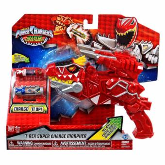 Harga Power Rangers T-Rex Super Charge Morpher
