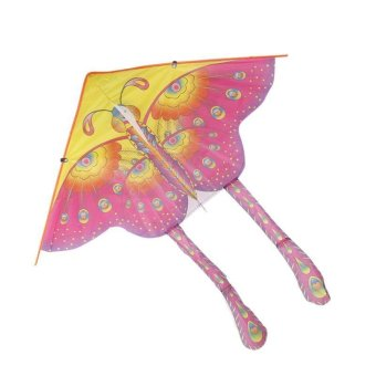 BUYINCOINS 90cm Beautiful Colorful Traditional Chinese Butterfly Kite Without String Price Philippines