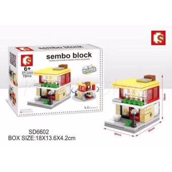 Sembo Block SD6602 McDo Building Blocks Price Philippines