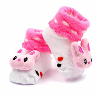 Baby Steps Bannie Baby Girl Socks (Pink) Price Philippines