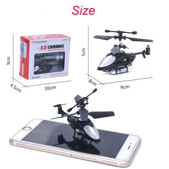 RC 5012 2CH Mini Rc Helicopter Radio Remote Control Micro 2 Channel - intl Price Philippines