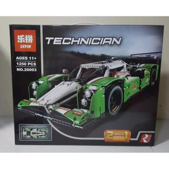 Harga Lepin Technician V8 Building Blocks 2 In 1 Models (Green)
