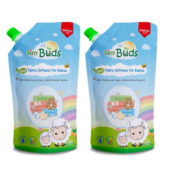 Harga Tiny Buds Natural Baby Fabric Softener 500ml Set of 2