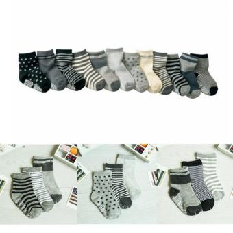 4 Pairs Baby Boys Gentleman Socks For 1-3 Years Price Philippines