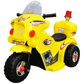Appliance Galore LL999 Rechargeable Motor Bike (Yellow) Price Philippines