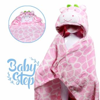 Baby Steps LadyCow Hooded Towel Blanket (Pink) Price Philippines