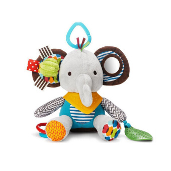 Harga Baby Bandana Buddies Multi-Sensory Soft Plush Toy,Rattle Toy, Elephant - intl