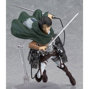 Attack On Titan Levi Ackerman Figma 213 Pvc Action FigurecollectionModel Toys Doll 15Cm A185 - intl Price Philippines
