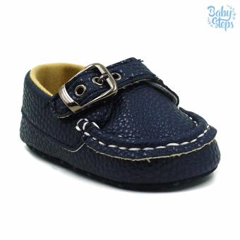 BABY STEPS Andie Leather Baby Boy Shoes Casual (Black) Price Philippines