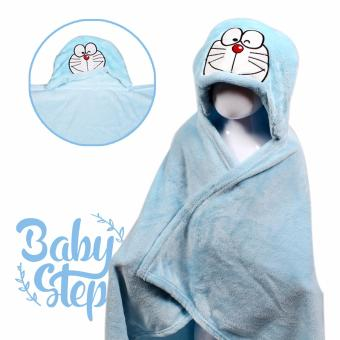 Baby Steps Daemon Hooded Towel Blanket (Blue) Price Philippines