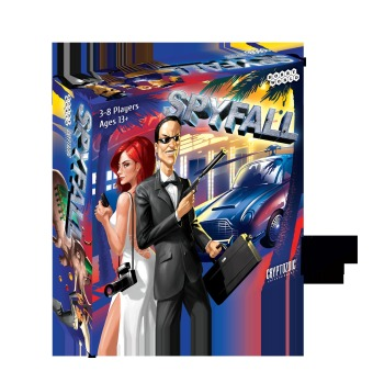 Cryptozoic Entertainment Spyfall Card Game Price Philippines