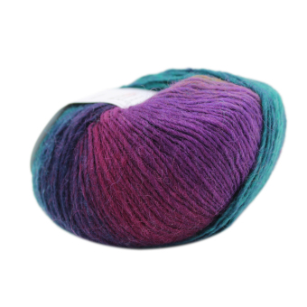 Harga MagiDeal Wool Knitting Thread Fingering Crochet Yarn Dyed #5 - intl