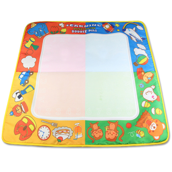 Harga CP1363NC 72X69cm big size aquadoodle magic water mat/water drawing board/board drawing/magic water doodle/ (Intl)