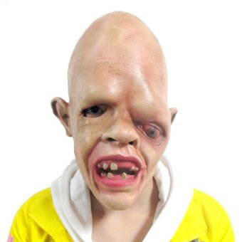 Latex Halloween Costume Mask Zombie SCARY FANCY DRESS Adult Costume Accessory Price Philippines