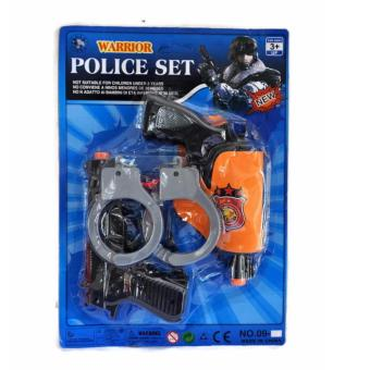 Harga 1 Set Warrior Police Set 150g