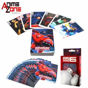 ANIME ZONE Big Hero 6 Baymax Bridge Poker Blackjack Solitaire Collectible Anime Playing Cards Price Philippines