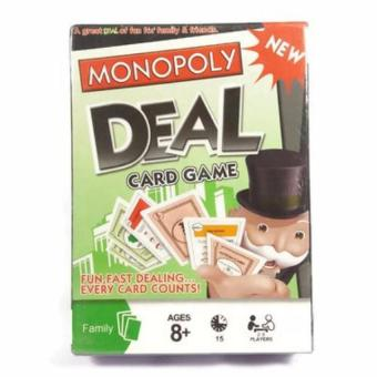 Monopoly Deal Card Game (pls read what's in the box) Price Philippines