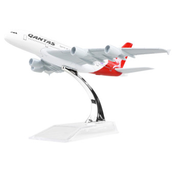 Australia Qantas Airways A380 16cm Solid Metal Alloy Airplane Models Child Toy Birthday Gift Plane Models Price Philippines