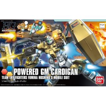 Harga Gundam HGBF 1/144 Powered GM Cardigan