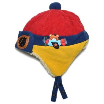 Cocotina Toddler Baby Pilot Glasses Warm Beanie Cap Hat Red Price Philippines