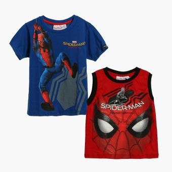 Harga Marvel Spider-man Boys 2-piece Graphic Tee Set (3T)